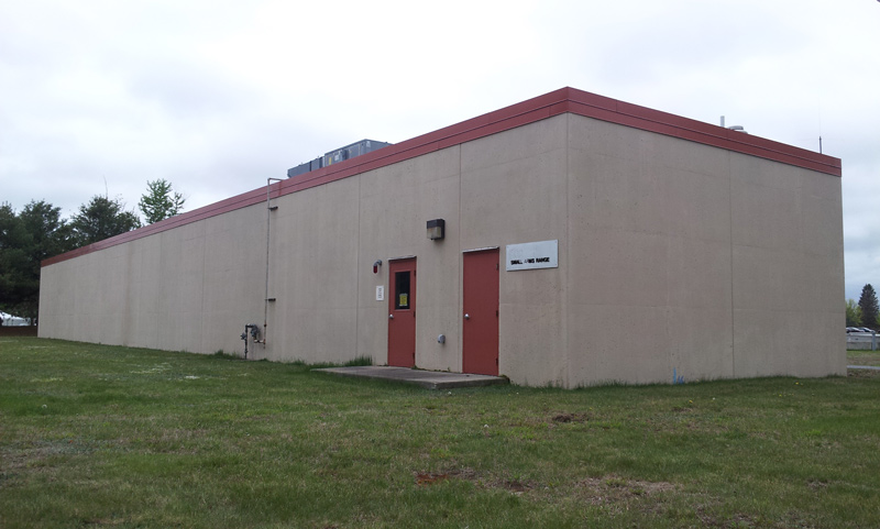 Former Navy Indoor Shooting Range for lease