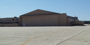 aircraft hangar for MRO, maintenance, 50,000 SF