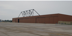 160,000 SF hangar for aircraft maintenance, repair, overall MRO