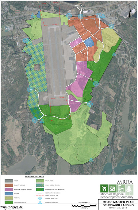 NASB Reuse Master Plan Map