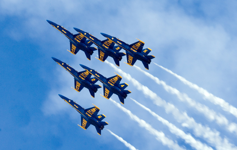 Blue Angels at Great State of Maine Air Show
