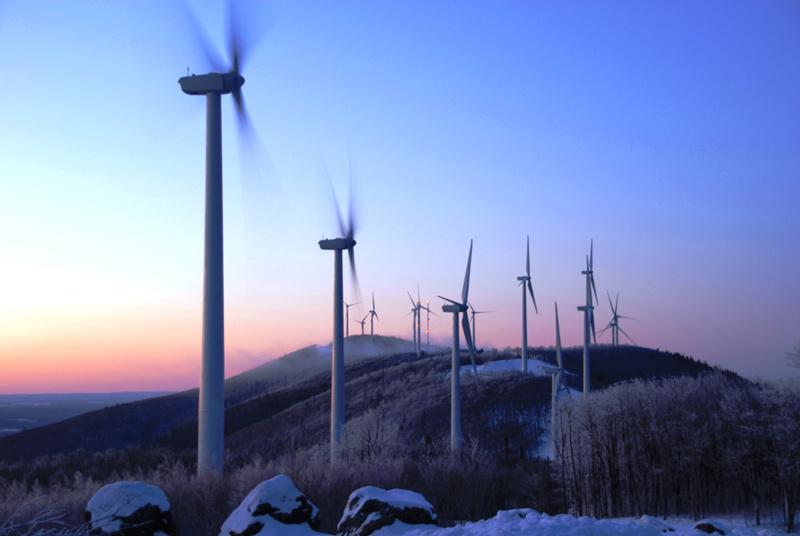 Wind Turbines in Mars Hill, Maine