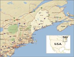 Maine, U.S.A.