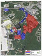 Brunswick Landing map of progress