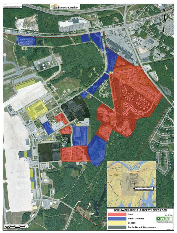 Brunswick Landing Map Progress Sales Leases