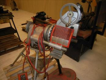 Pipe bender for sale on auction site.