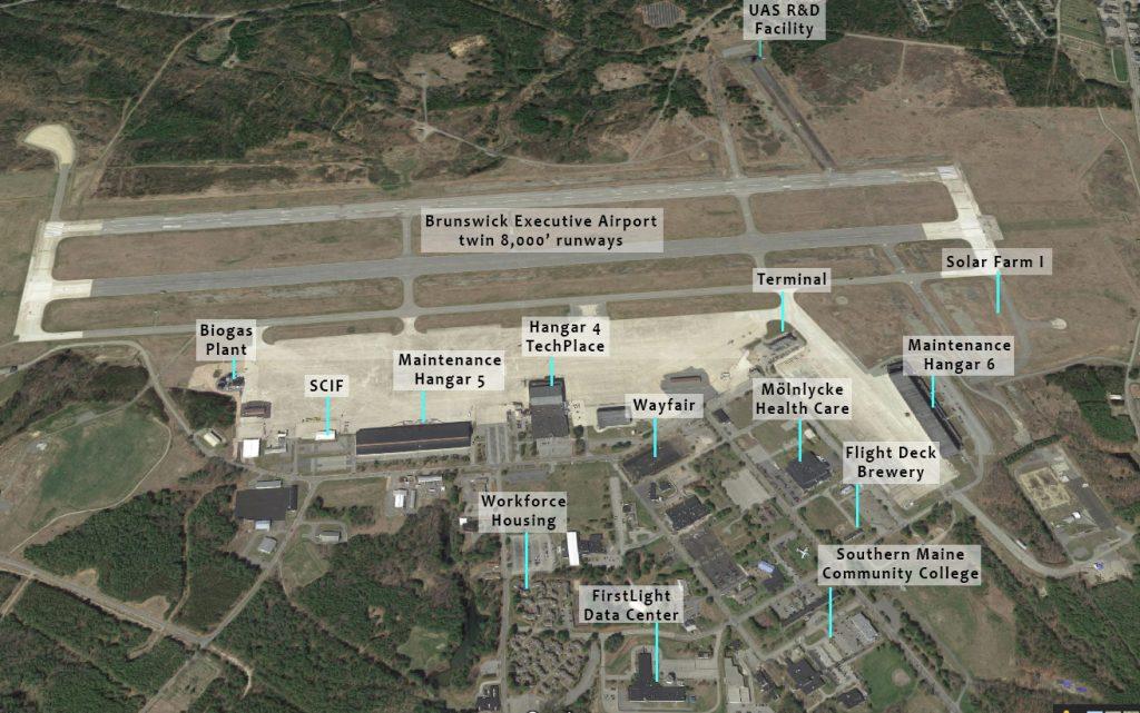 Brunswick Landing Amazon HQ2 proposal