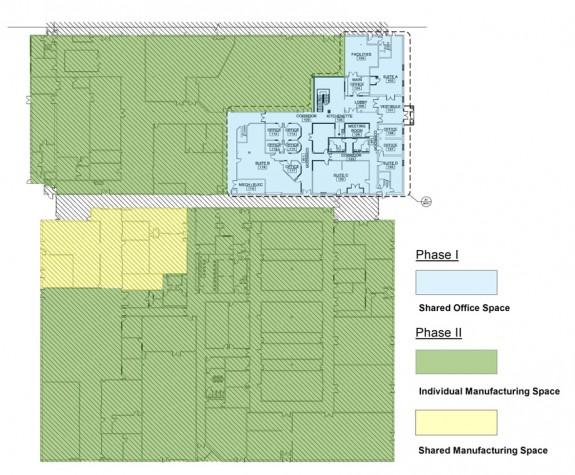 TechPlace floor plan