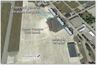 Hangar sites at BXM