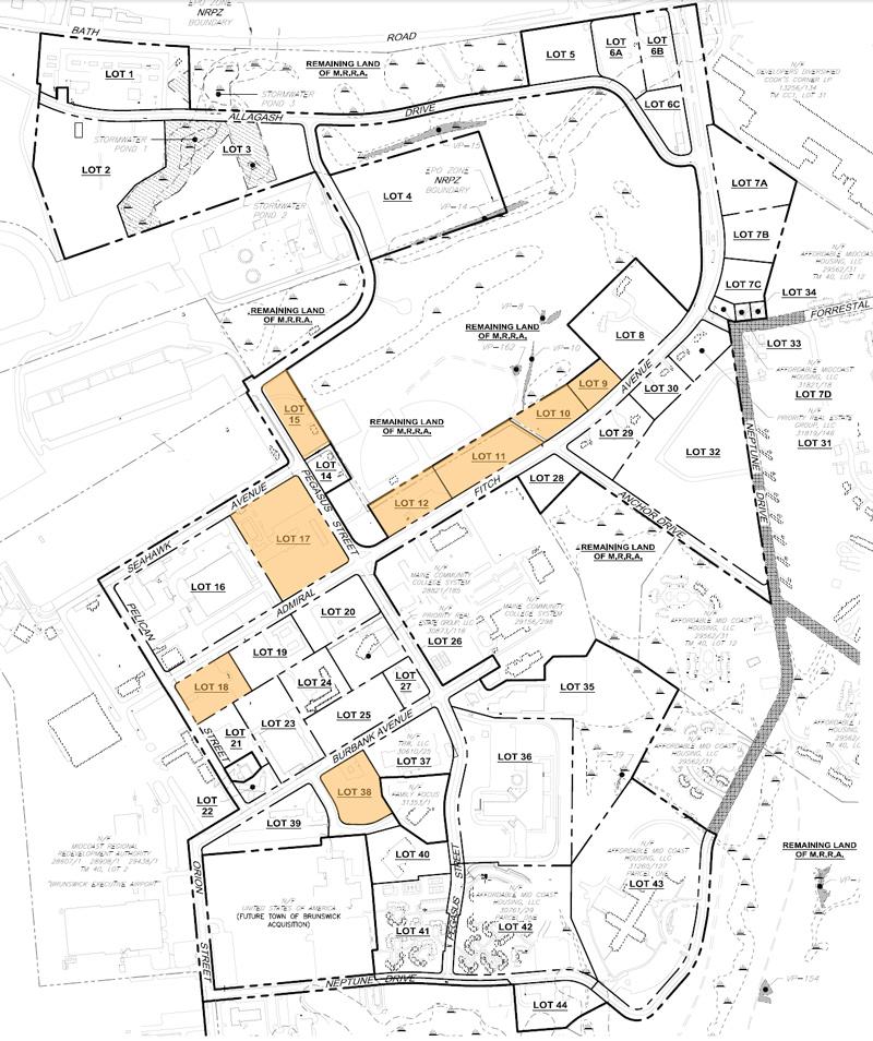 Brunswick Landing map