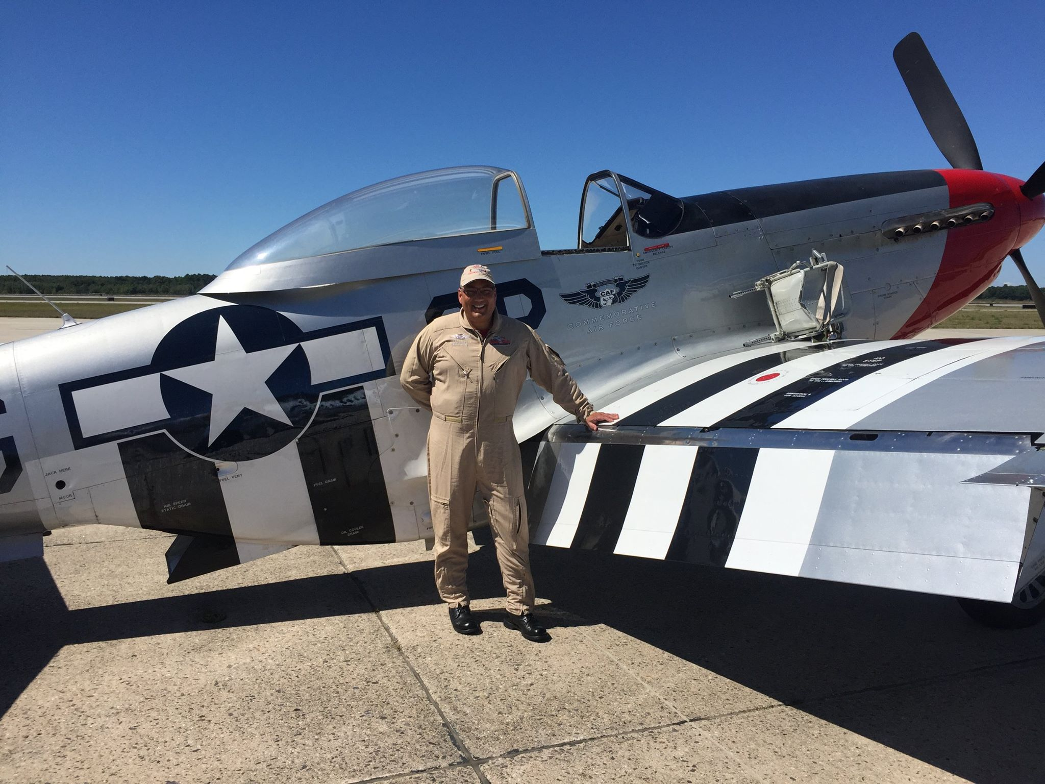 Mark Welborn Of Wiscasset Won A Raffle To Take Flight In The Mustang With About Half Hour Air Time Above Brunswick Executive Airport