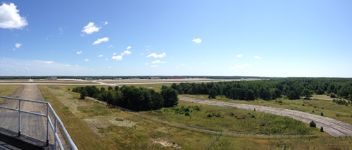 Brunswick Executive Airport control tower