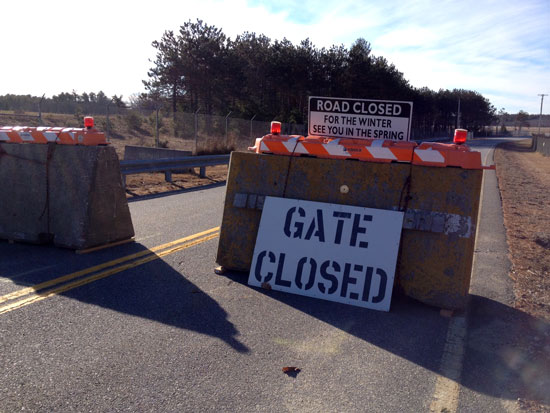 MRRA closes Merriconeag Road for the season.